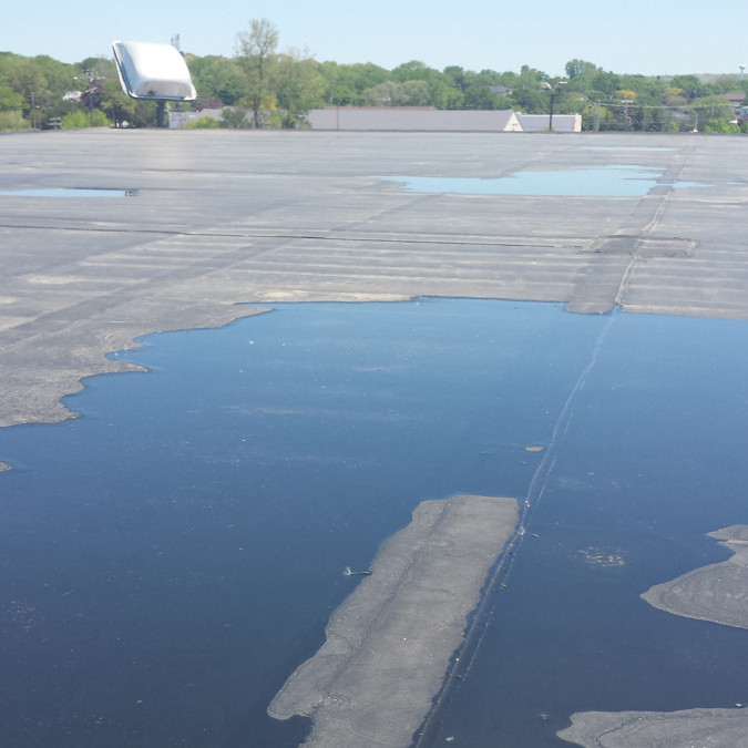 Negative Impact of Ponding Water on Roofs