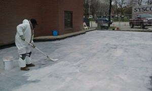 silicon roofing system Milwaukee, WI restaurant