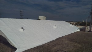 Skylight Repairs and Roof Restoration - Manufacturing Facility, Butler, WI