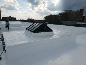 Townhome Roof Restoration - Ogden Townhomes
